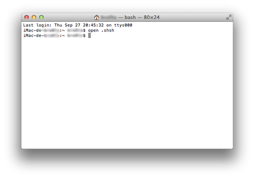 terminal open shsh mac Downgrade iOS 6 vers iOS 5.1.1 avec Redsn0w et TinyUmbrella [TUTO]