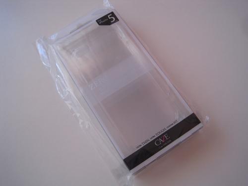 4 ZERO 5 : La coque iPhone 5 qui fait 0.5 mm dépaisseur [ENFIN DISPO]