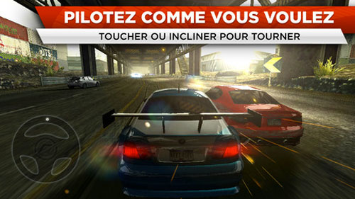 NFSMW1 Need For Speed : Most Wanted disponible sur lApp Store