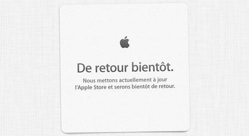 apple store close ferme retour bientot LApple Store en ligne est fermé