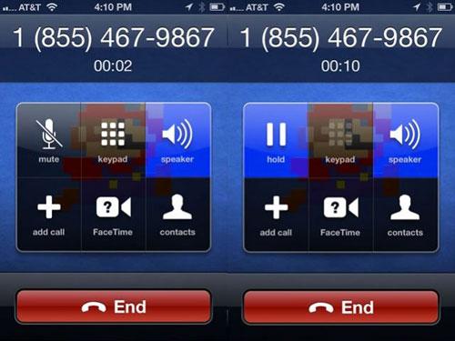call Cydia : CallVibrate vibre lorsque vous appelez