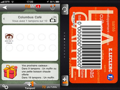 fidme2 Pourquoi utiliser Fidme plutôt que Passbook ?