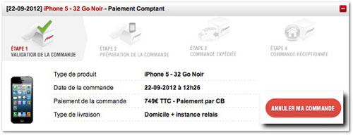 free Free Mobile rembourse les iPhones 5 non livrés