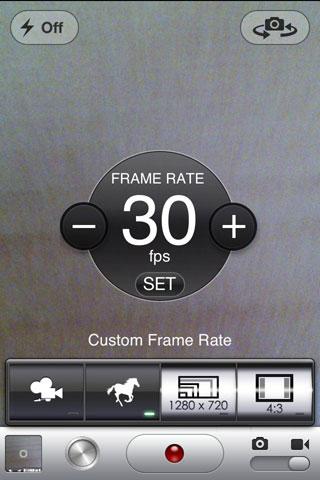 frme Cydia : CameraTweak améliore lappareil photo