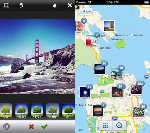 instagram iphone 5 Une belle mise à jour pour Instagram