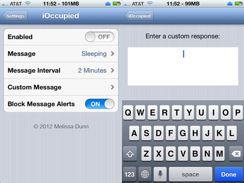 ioccupied Cydia : iOccupied passe en version 1.0 66