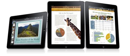 ipad iwork Une version iWork pro pour iPad en préparation ?