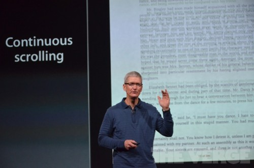 ipadmini 0114 500x330 Le bilan du keynote : iPad Mini, iPad 4ème génération et iMac