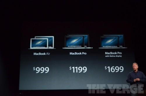 ipadmini 0243 500x330 Le bilan du keynote : iPad Mini, iPad 4ème génération et iMac