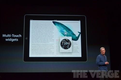 ipadmini 0441 500x330 Le bilan du keynote : iPad Mini, iPad 4ème génération et iMac