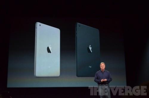 ipadmini 0539 500x330 Le bilan du keynote : iPad Mini, iPad 4ème génération et iMac
