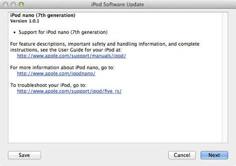 ipod101 Apple met à jour ses nouveaux iPod Nano