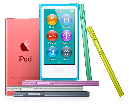 ipodnano Apple met à jour ses nouveaux iPod Nano