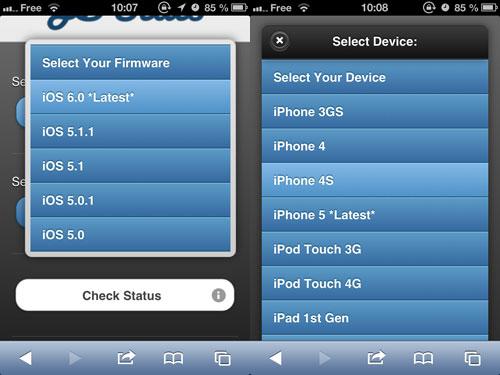 jbcheck Une webapp pour savoir si votre appareil se jailbreak