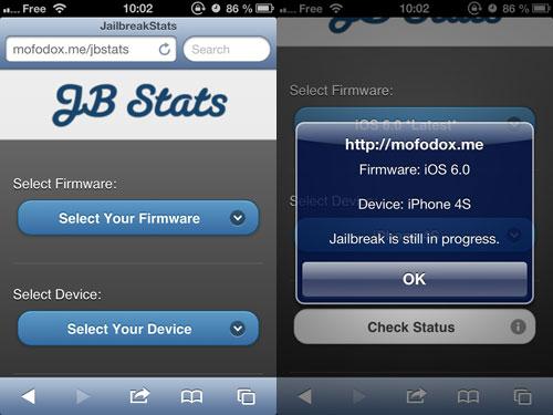jbstats Une webapp pour savoir si votre appareil se jailbreak
