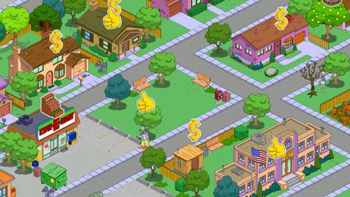 simpson iphone 5 02 Le jeu Les Simpson™: Springfield sadapte automatiquement à liPhone 5