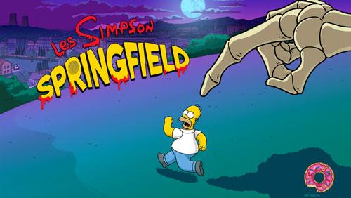 simpson iphone 5 Le jeu Les Simpson™: Springfield sadapte automatiquement à liPhone 5