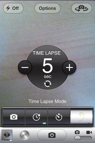 timer Cydia : CameraTweak améliore lappareil photo