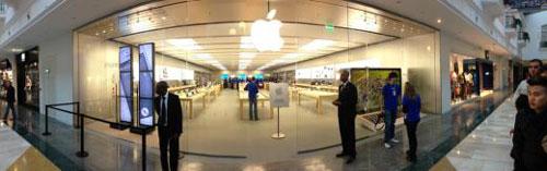 val d europe ouverture apple store Ouverture de lApple Store de Val dEurope