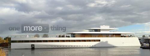 yacht Steve Jobs Le Yacht de Steve Jobs, inspiré dApple