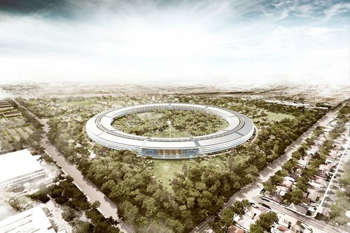 01F4000004529018 photo campus apple Des nouvelles images du futur campus dApple