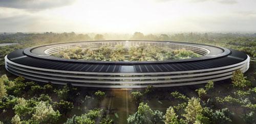 Campus1 Des nouvelles images du futur campus dApple