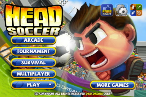 HS1 LApp gratuite du jour : Head Soccer