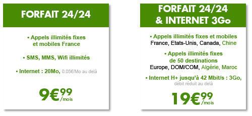 byou B&You apporte la H+ et un forfait à 9,99€