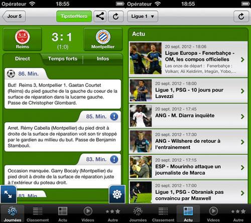 footballapp2 LApp gratuite du jour : The Football App