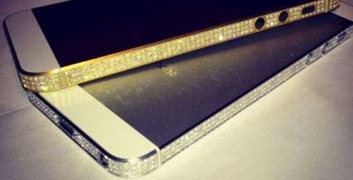 iphone5diamant Un iPhone 5 à 18 000 euros, ça vous tente ?