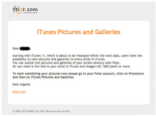 itunes iTunes 11 bientôt disponible