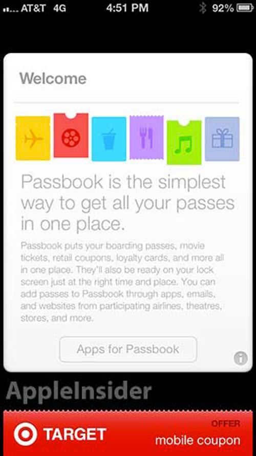 passbook6.1 Passbook sexplique sur iOS 6.1