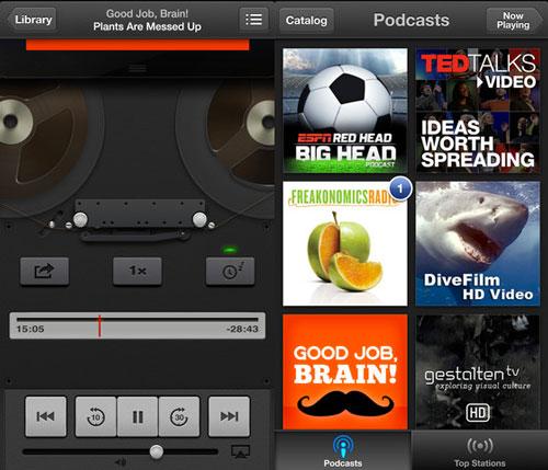 podcasts iphone 5 Lapplication Podcast se met à jour en 1.1.2