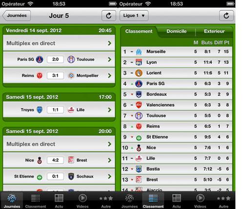thefootballapp1 LApp gratuite du jour : The Football App