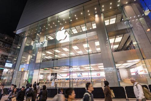 Apple Store Hong Kong 02 Le troisième Apple Store de Hong Kong en photo