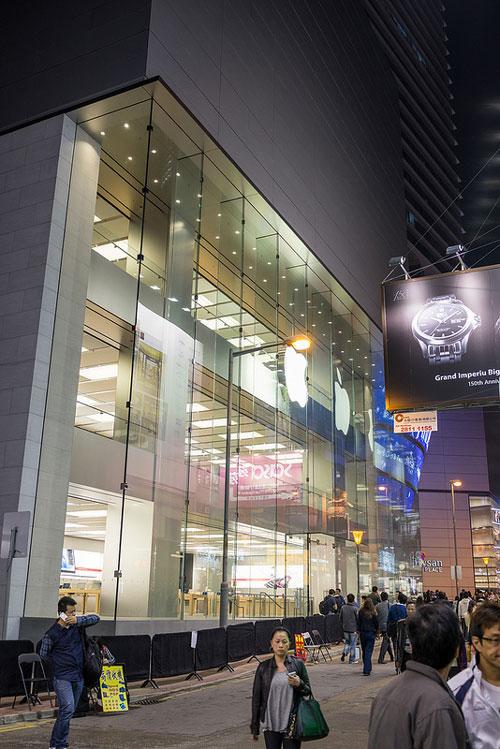 Apple Store Hong Kong Le troisième Apple Store de Hong Kong en photo