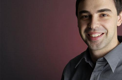 Larry Page Le PDG de Google, Larry Page, aimerait une meilleure entente