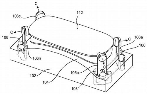 apple curved glass patent Apple dépose un brevet pour incurver le verre