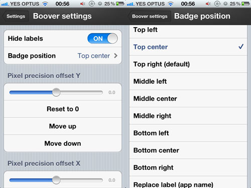 boover2 Cydia : Boover replace les pastilles sur vos icônes