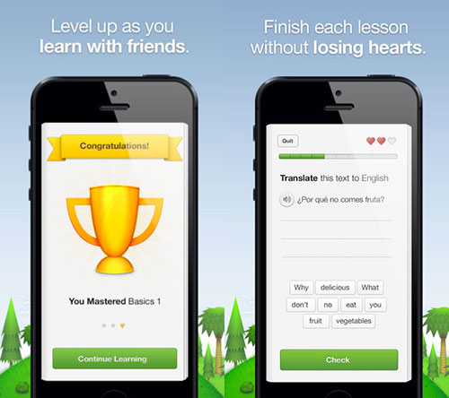 duolingo 02 LApp Gratuite du Jour : Duolingo
