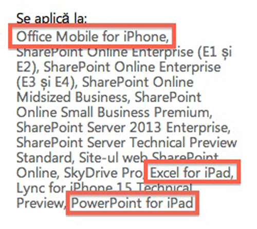 office Microsoft annonce officiellement Office iOS