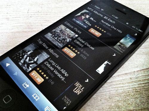 amazon webapp mp3 iphone La boutique MP3 dAmazon est désormais optimisée pour iPhone et iPod Touch