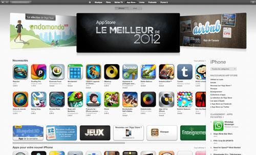 app store LApp Store a été élu meilleur magasin dapplications