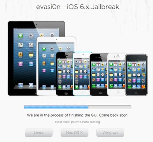 ev Jailbreak Untethered iOS 6.1 avec evasi0n est en progression [MàJ]