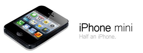 iPhone Mini 2014 Un iPhone «mini» pour lannée prochaine