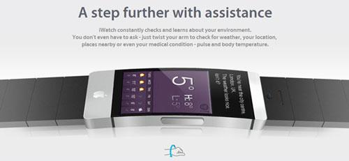 iWatch concept 3 La iWatch sera bien plus quun assistant pour iPhone