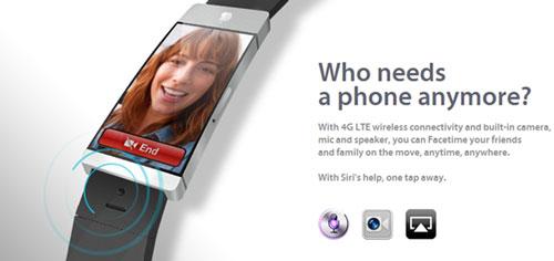 iWatch concept 4 La iWatch sera bien plus quun assistant pour iPhone