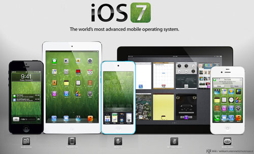 ios7 iOS 7 : Apple réaffecte des ingénieurs dOS X