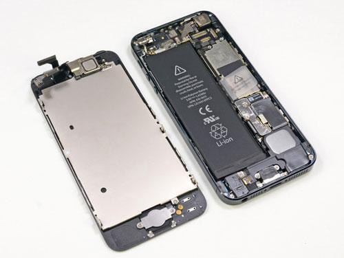 iphone 5 en pieces Apple réduit ses commandes de pièces pour liPhone 5