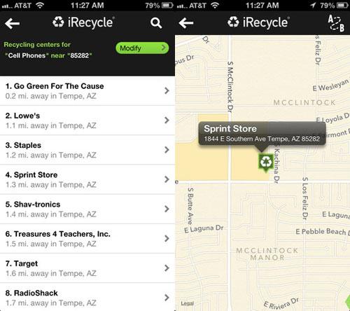 recycle LApp Gratuite du jour : iRecycle